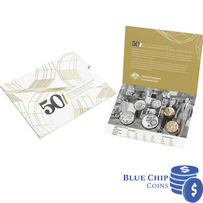 2015 UNC RAM 6 COIN MINT SET 50th ANNIVERSARY OF ROYAL AUSTRALIAN MINT