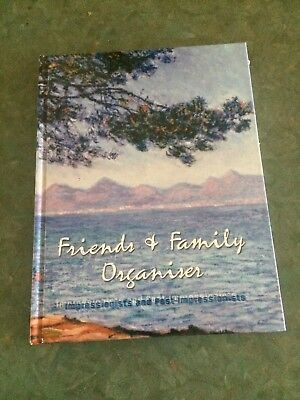 Friends and Family Organiser Address Book With Impressionist and Post Impression