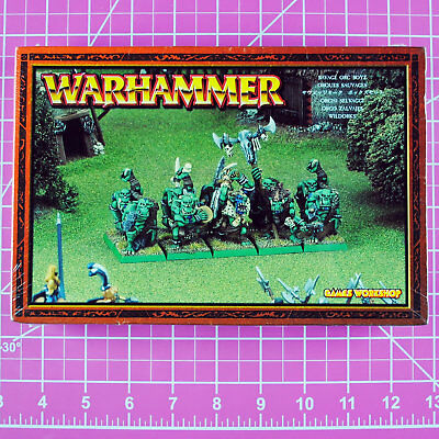 Warhammer Fantasy Savage Orc Boyz NIB Metal - OOP - Games Workshop Citadel Orcs