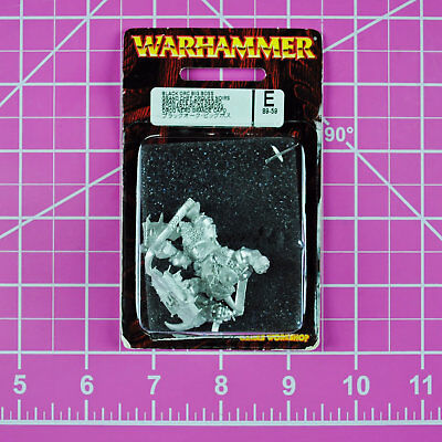 Warhammer Fantasy Black Orc Big Boss NIB Metal - OOP Games Workshop Citadel Orcs