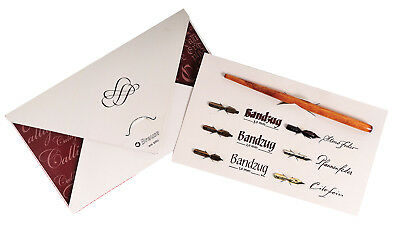 Brause Calligraphy and Writing Set, 6 Nibs