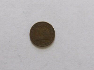 Old Liberia Coin - 1961 1 Cent Elephant - Circulated