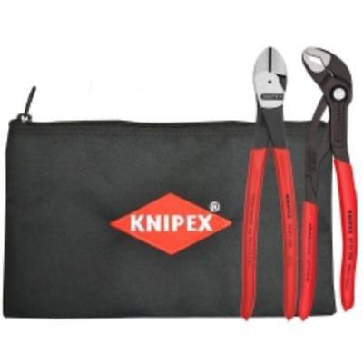 knipex 9K0080115US Pliers Set 10 In With Keeper Pouch 2pc