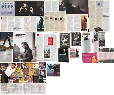 RICHARD HAWLEY : CUTTINGS COLLECTION -interviews adverts-