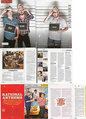 FRIENDLY FIRES : CUTTINGS COLLECTION -interviews-