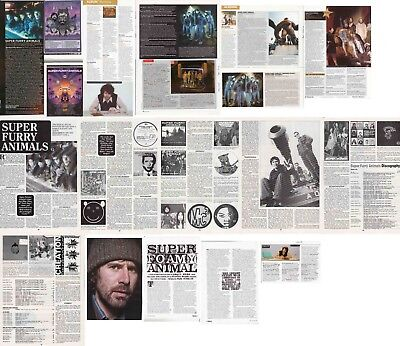 SUPER FURRY ANIMALS : CUTTINGS COLLECTION -interviews-