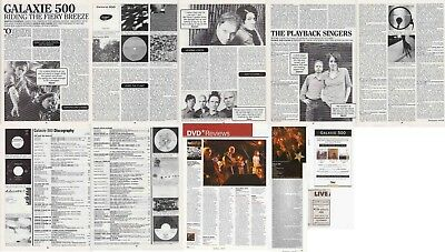 GALAXIE 500 : CUTTINGS COLLECTION -adverts interview-