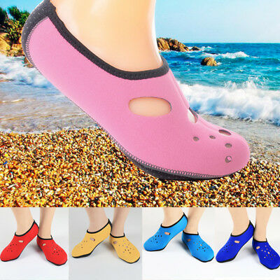 Men Women Aqua Skin Shoes Beach Water Socks Yoga Exercise Pool Swim Slip Surfing