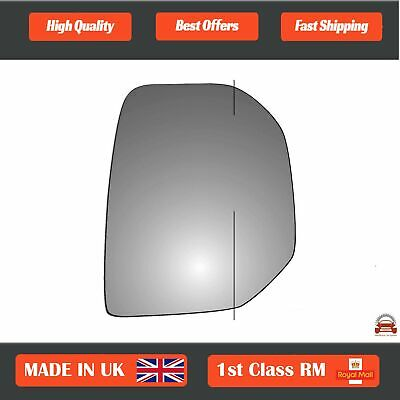 Vehicle Parts & Accessories Left Wide Angle Mirror Glass Peugeot Partner 2008-2013 #276LAS
