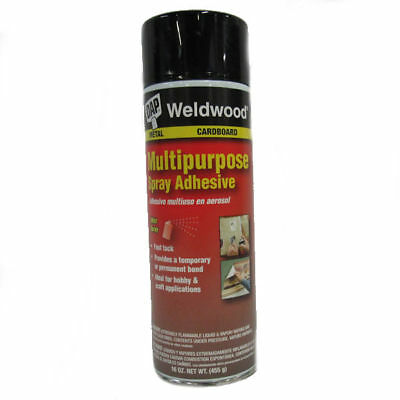 DAP Weldwood Multi-purpose Spray Adhesive, Case of 12 cans