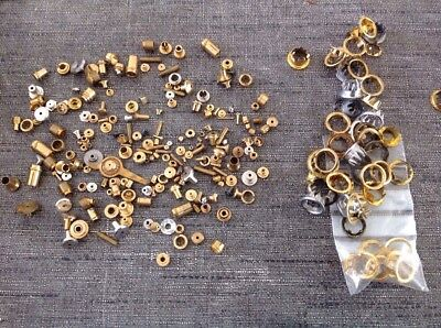 Clock Hand Fittings Dial Centres Grommets Ex Clockmakers Spare Parts Collection