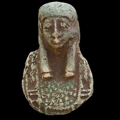 Beautiful Ancient Egyptian Amulet 300 Bc (2)