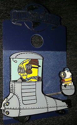 Universal Studios Minions Movie Collectible Pin Rare Authentic G