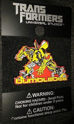 Universal Studios Transformers Bumblebee Movie Collectible Pin Rare Authentic