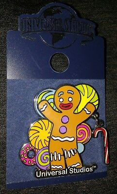 Universal Studios Shrek Gingerbread Movie Collectible Pin Rare Authentic