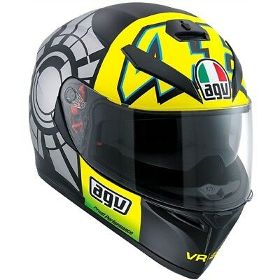 Casco Integrale Agv K3 K-3 Sv Winter Test 2012 Taglia M/s  + Pinlock