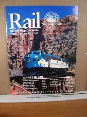 Rail Official Magazine of the Verde Canyon Railroad 2000