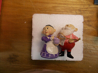 Mr. and Mrs. Santa Ornament from Rudolph the Red Nosed Reindeer