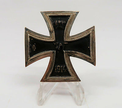 WWI German Imperial iron cross badge pin soldier medal WWII US Army bring back