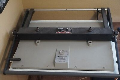 Seal 500 T-X dry mounting press 20x30 clean platen