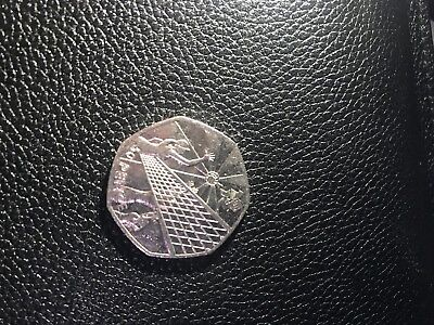 2012 London Olympic Games 50p Collectors Coin