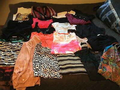 Ladies Sz 16 Bulk Lot Resell Or Wear Tops Pack 26 Peices Wish Sussans Ect