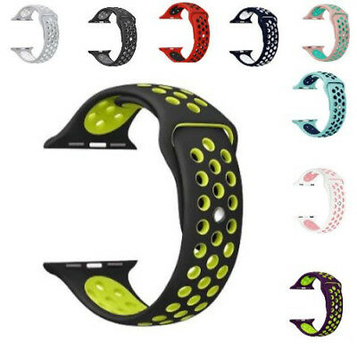 Apple Watch Band  Replacement Sports Silicone Strap For  Nike+ iWatch Series 3/2