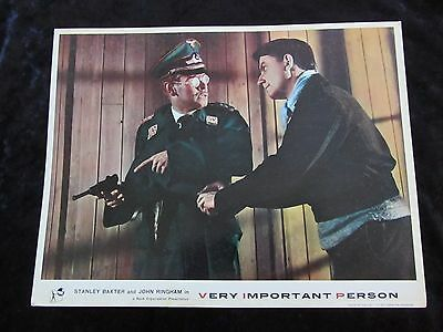 Very Important Person lobby card # 4 - Stanley Baxter, John Ringham