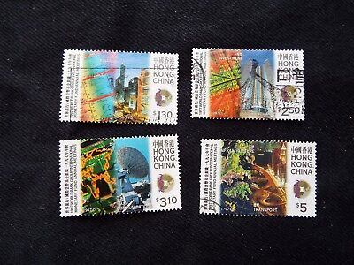 Hong Kong China: 1998 Anniv of Star Ferry  Set Used