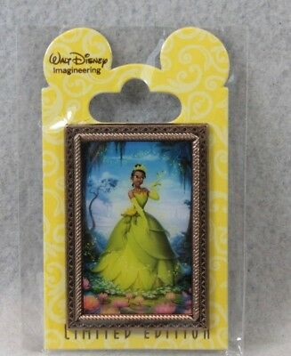 Disney WDI Imagineering LE 200 Fairytale Hall Tiana Princess and the Frog Pin