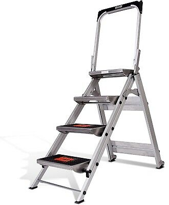 Little Giant Ladder Systems 10410BA Safety Step Ladder Four Step Bar, 2 x 11-Inc