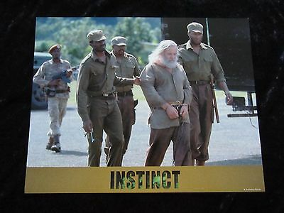 Instinct lobby card # 1 Anthony Hopkins
