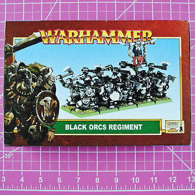 Warhammer Fantasy Black Orc Regiment, Metal - OOP - Games Workshop Citadel Orcs