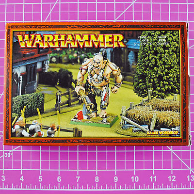 Warhammer Fantasy Giant, Metal OOP Games Workshop Classic Citadel Orcs & Goblins