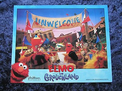 ELMO IN GROUCHLAND lobby card #1 ELMO, BIG BIRD