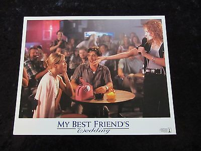 MY BEST FRIEND'S WEDDING  lobby card #5 CAMERON DIAZ, JULIA ROBERTS