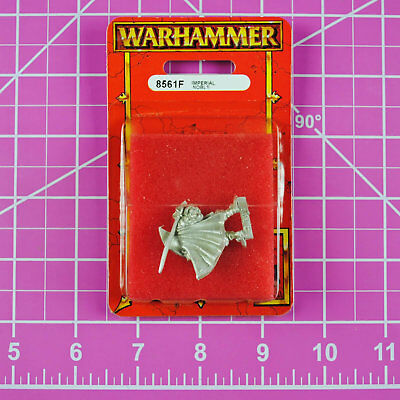 Warhammer Quest Imperial Noble NIB Metal, Rare OOP Games Workshop Citadel Empire