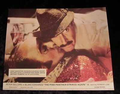 THE PINK PANTHER STRIKES AGAIN lobby card #5 PETER SELLERS