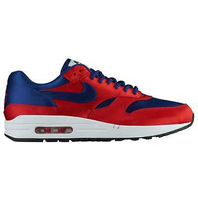 timeless design 9ea06 4b65d Nike Air Max 1 Men s University Red Deep Royal Blue White Black O1021600
