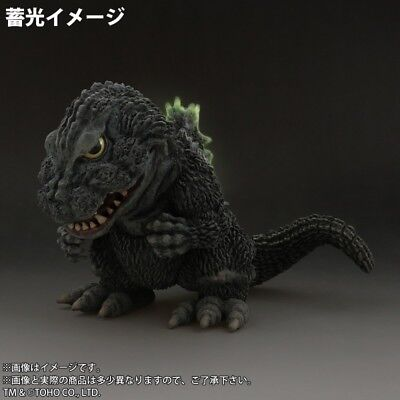 X-PLUS Deforeal Series Godzilla 1962 figure Ric-toy Limited grow in the dark