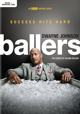 Ballers The Complete Second Season Dvd 2017