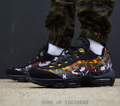 b99f3508a939 Nike Air Max 95 Og Mc Sp Erdl Party Camo Black Multi Men s Trainers All  Sizes