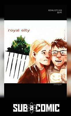 ROYAL CITY #10 COVER B 90S ALBUM HOMAGE VARIANT (IMAGE 2018 1st Print) COMIC