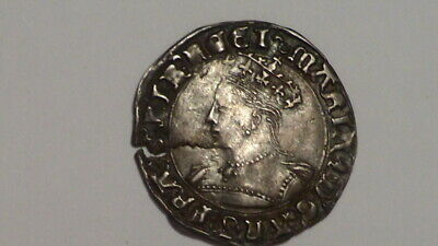 Queen Mary Groat. S2492.Very Strong Portrait. REDUCED. British Hammered.Tudor