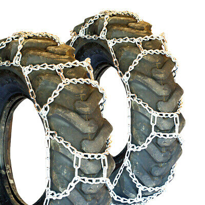 Titan H-Pattern Tractor Link Tire Chains Snow Ice Mud 10mm 12.5/80-18