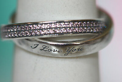 9bf841afc Authentic New Pandora Sweet Promise Pink Cz Ring 196546Pcz *Choose  Size*Gift Box