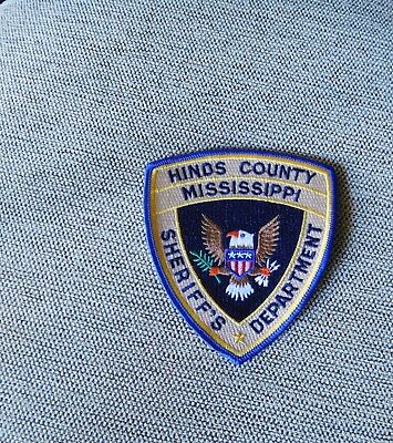 Hinds County Mississippi Sheriff's Dept Shoulder Patch