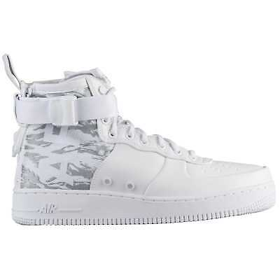 Air 1 '17 Force Sf Men's 1129100 Mid Nike Whitewhitewhite 35j4ARL