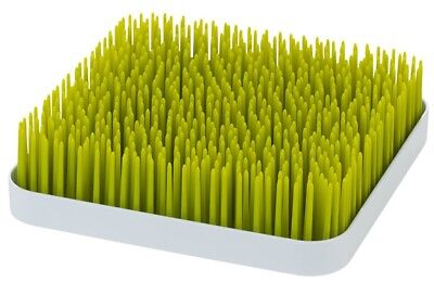 Boon Grass Counter Top Drying Rack Green Baby Bottles Dishwasher Safe 9 x 9