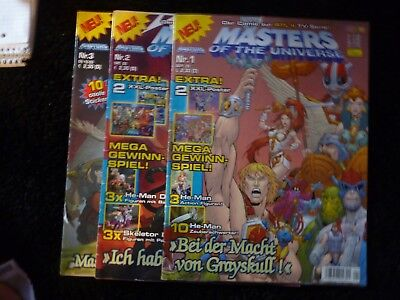 "3 Comics ""Masters of the Universe"" (Nr.1-3/2003) zur RTL II - Serie"